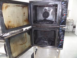 Commercial Oven Cleaning Birmingham Before a visit from Ovenmagic Birmingham