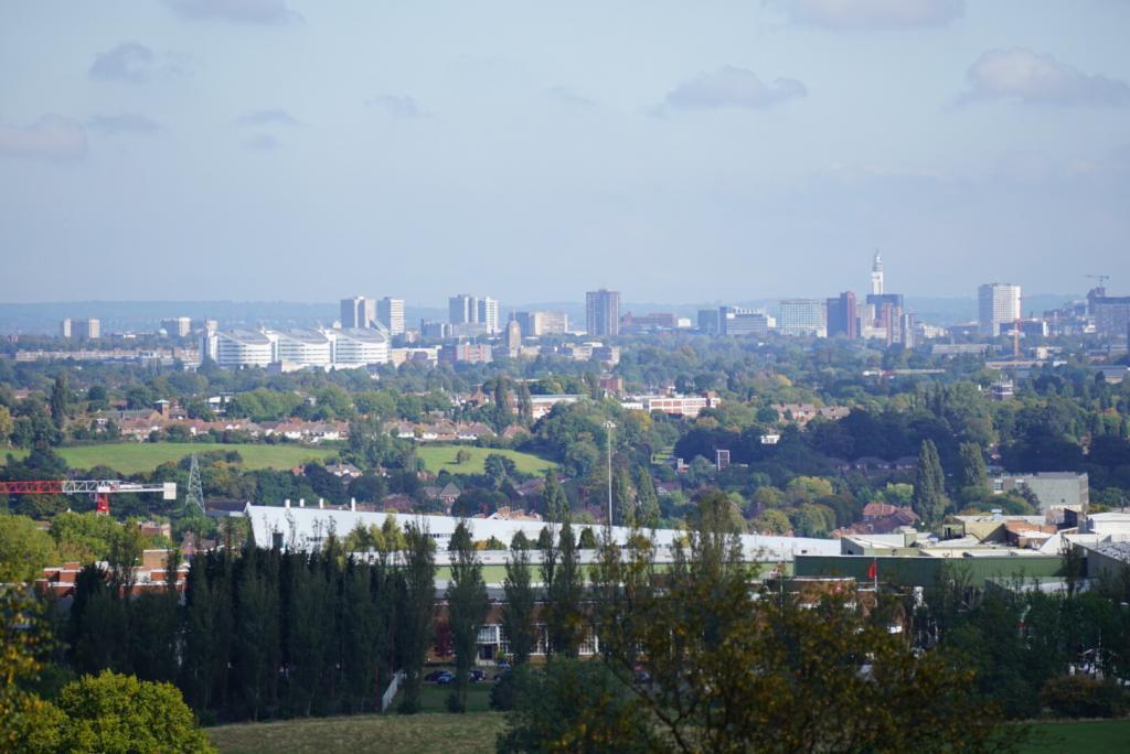Photo Over Looking Birmingham