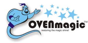 OvenMagic Oven cleaning Birmingham Logo